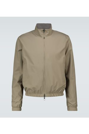 Loro Piana Windmate® reversible bomber jacket