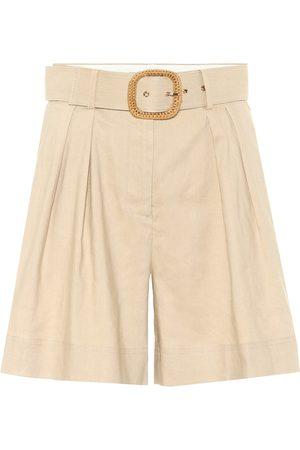 Rebecca Vallance Mojito linen-blend Bermuda shorts