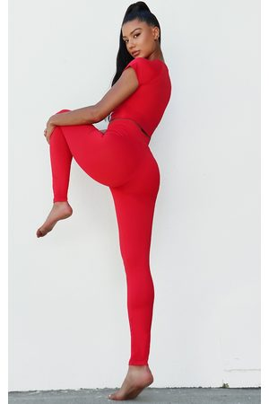 PRETTYLITTLETHING Luxe High Waist Gym Leggings