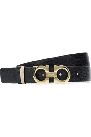 Salvatore Ferragamo Reversible Gancini leather belt