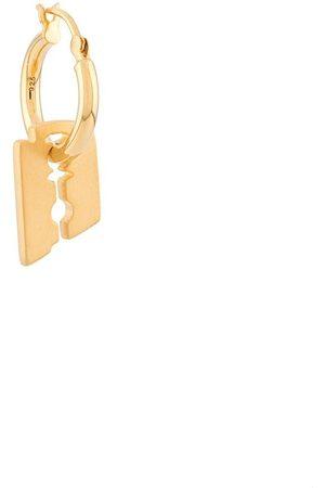 NORTHSKULL Men Hoop - Razor Blade single hoop earring