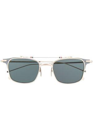 Thom Browne Sunglasses - TB817 Iron Clubmaster Sunglasses