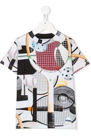 Molo Sport gear-print T-shirt