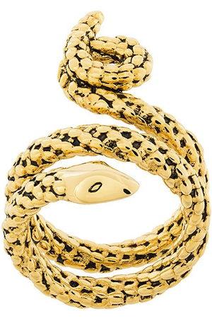 Aurélie Bidermann Women Rings - Wrap-around snake ring - Metallic