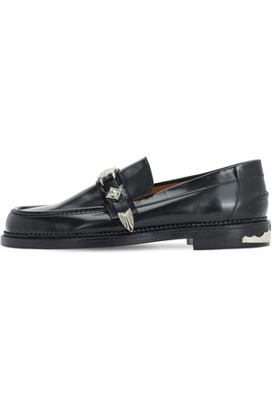 TOGA VIRILIS Polido Leather Buckle Loafers