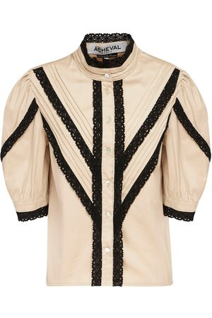 Acheval Pampa Yegua Stretch Cotton Satin Shirt