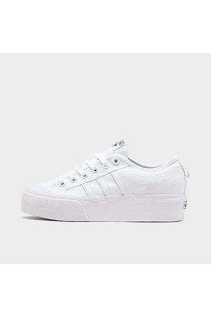 adidas Women's Originals Nizza Platform Casual Shoes in Size 6.0