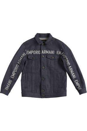 Emporio Armani Stretch Cotton Jacket