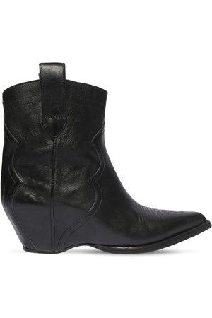 Maison Margiela 45mm Leather Ankle Boots