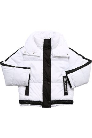 Karl Lagerfeld Nylon Puffer Jacket