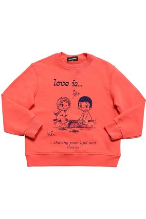 Dsquared2 Love Is Capsule Cotton Sweatshirt