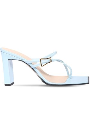 Wandler 85mm Yara Leather Sandals