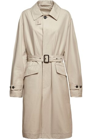 Stella McCartney Back Logo Canvas Trench Coat