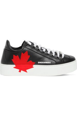 Dsquared2 30mm Canadian Team Leather Sneakers