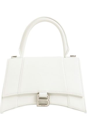 Balenciaga Sm Hourglass Grained Leather Bag