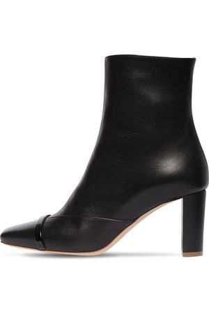 MALONE SOULIERS 70mm Lori Leather Ankle Boots