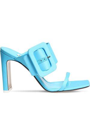 The Attico 95mm Satin Sandals