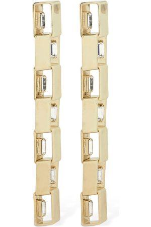 ROSANTICA Eleonor Pendant Earrings W/ Crystal
