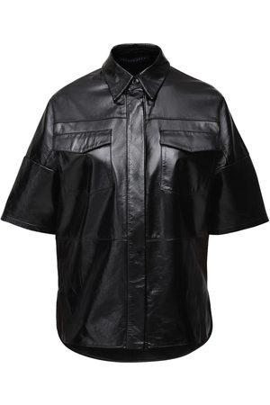 Zeynep Arcay Patent Leather S/s Shirt