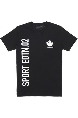 Dsquared2 Sport Printed Cotton Jersey T-shirt