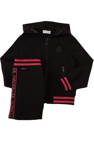Moncler Cotton Fleece Sweatshirt & Pants