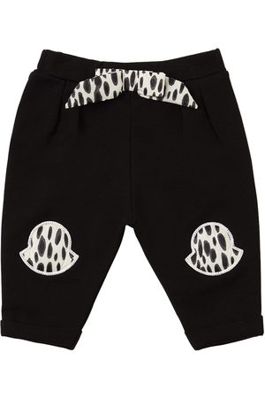 Moncler Girls Sweatpants - Cotton Sweatpants W/ Patches