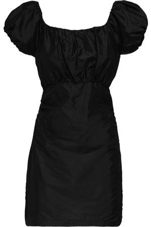 SIR Valetta Silk Taffeta Mini Dress