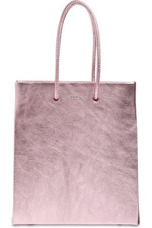 Medea Short Metallic Leather Bag