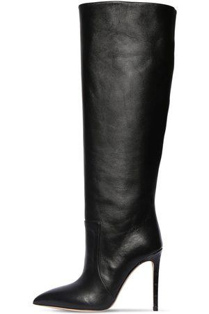 PARIS TEXAS 105mm Leather Tall Boots