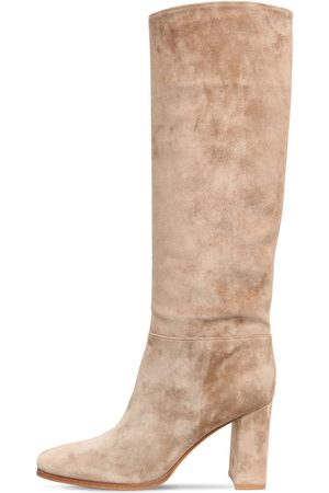 Gianvito Rossi Women Thigh High Boots - 85mm Suede Tall Boots