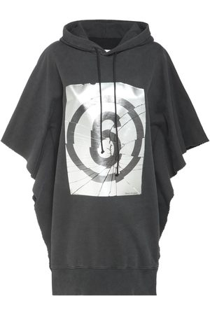MM6 MAISON MARGIELA Logo Print Cotton Sweat Dress