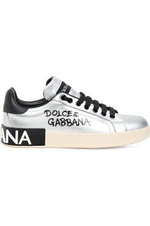 Dolce & Gabbana 20mm Portofino Leather Sneakers