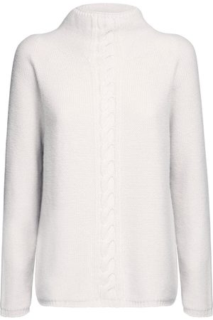 Max Mara Cashmere Knit Mock Neck Sweater