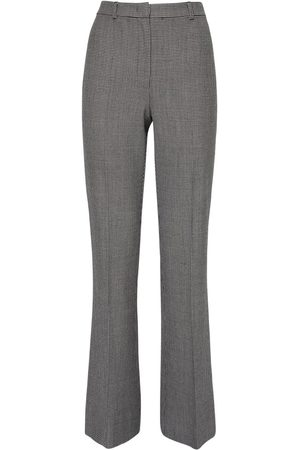 Max Mara Stretch Houndstooth Flared Pants