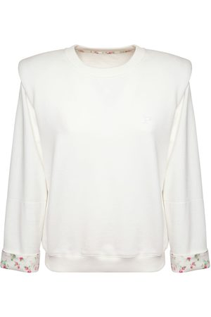 Serafini Liberty Cotton Fleece Sweatshirt