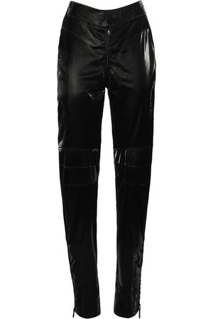 MUGLER Shiny Tech Biker Pants