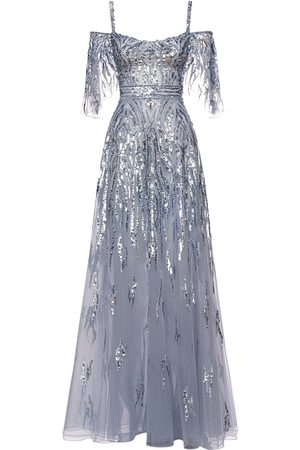 Zuhair Murad Sequined Maxi Dress