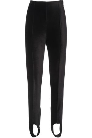 Kenzo Stretch Velvet Leggings