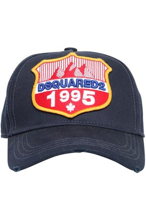 Dsquared2 1995 Patch Cotton Canvas Baseball Hat