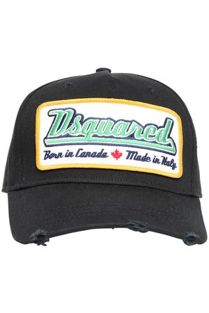 Dsquared2 Logo Patch Canvas Baseball Hat