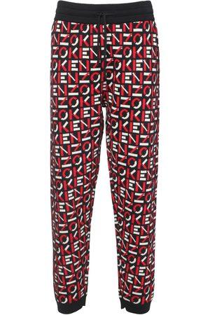 Kenzo Monogram Intarsia Knit Pants