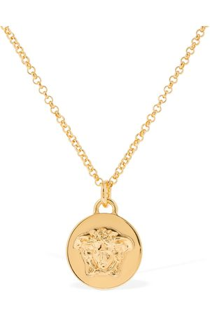 VERSACE Medusa Coin Palazzo Necklace