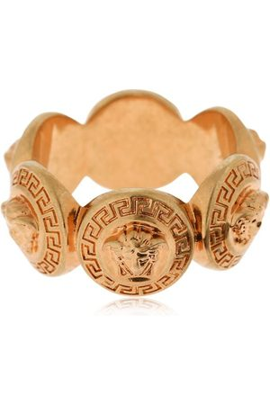 VERSACE Multiple Medusa Coin Ring