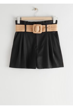& OTHER STORIES Women Shorts - High Paperbag Waist Shorts