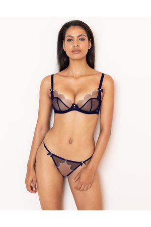 Agent Provocateur Lorna Thong In Navy With Trim