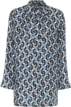 Max Mara Perugia printed silk blouse