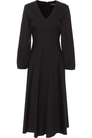 Max Mara Ardenne cotton-blend midi dress