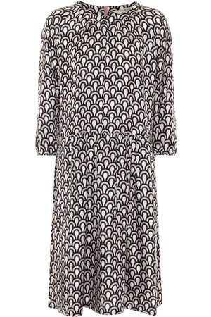 Max Mara Minorca printed silk midi dress