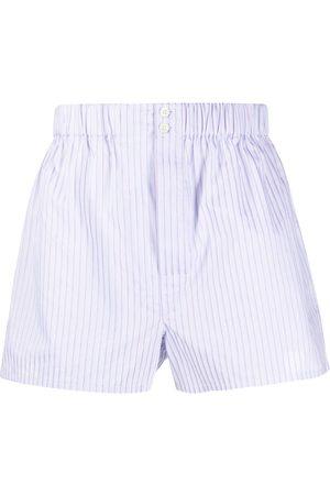 Brioni Men Boxer Shorts - Striped print shorts