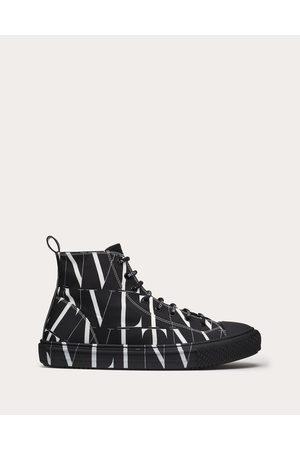 VALENTINO GARAVANI Vltn Times Giggies High-top Fabric Sneaker Man / Cotton 100% 42